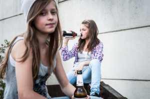 Влияние алкоголя на детей